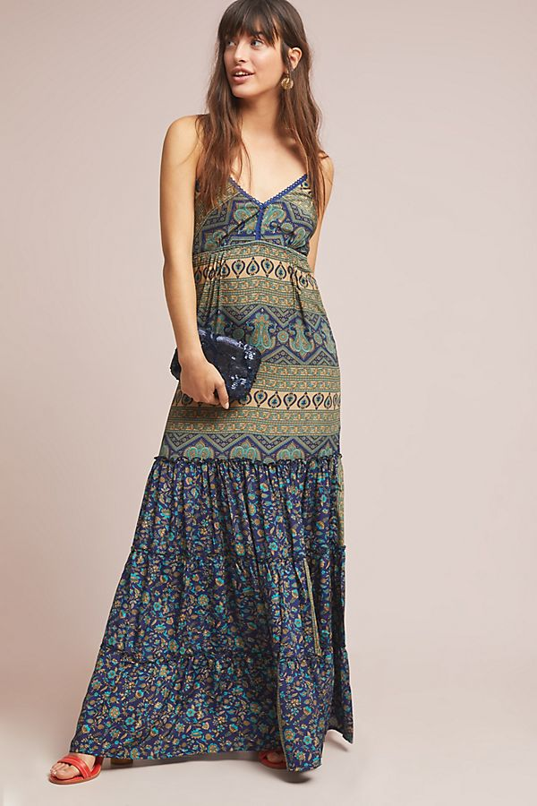 7facfb33f6d Slide View  1  Larissa Petite Maxi Dress