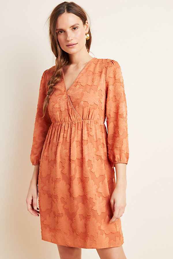 Slide View: 1: Lia Textured Mini Dress