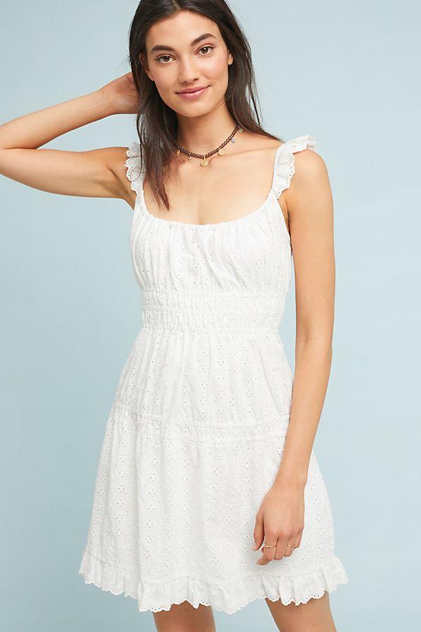 2287b891ce65 Eloise Eyelet Mini Dress | Anthropologie