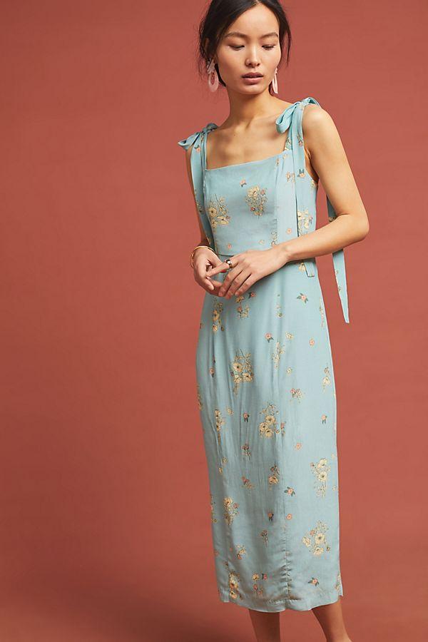 b0e3447911b6 Camille Midi Petite Dress   Anthropologie