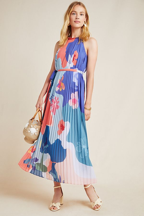 Slide View: 1: Encanta Abstract Maxi Dress
