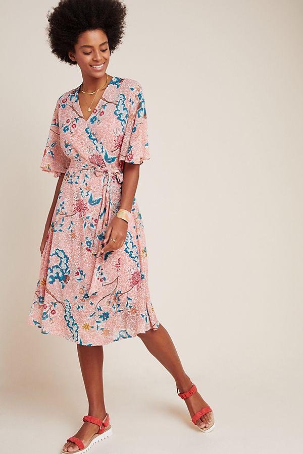Slide View: 1: Adelaide Wrap Dress