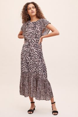 Cougar Rae Printed Dress by Lily And Lionel