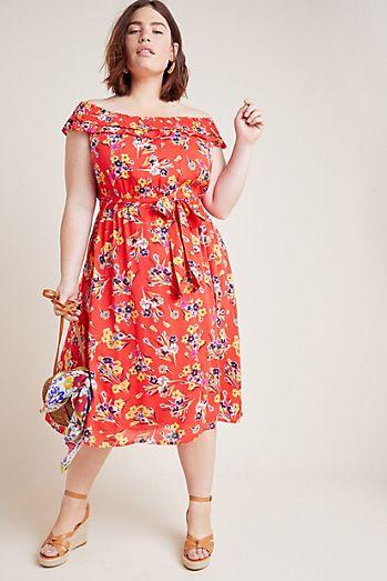 e0b0c652c29 Colloquial Off-The-Shoulder Dress