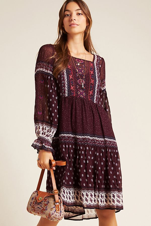 Slide View: 1: Galene Embroidered Tunic