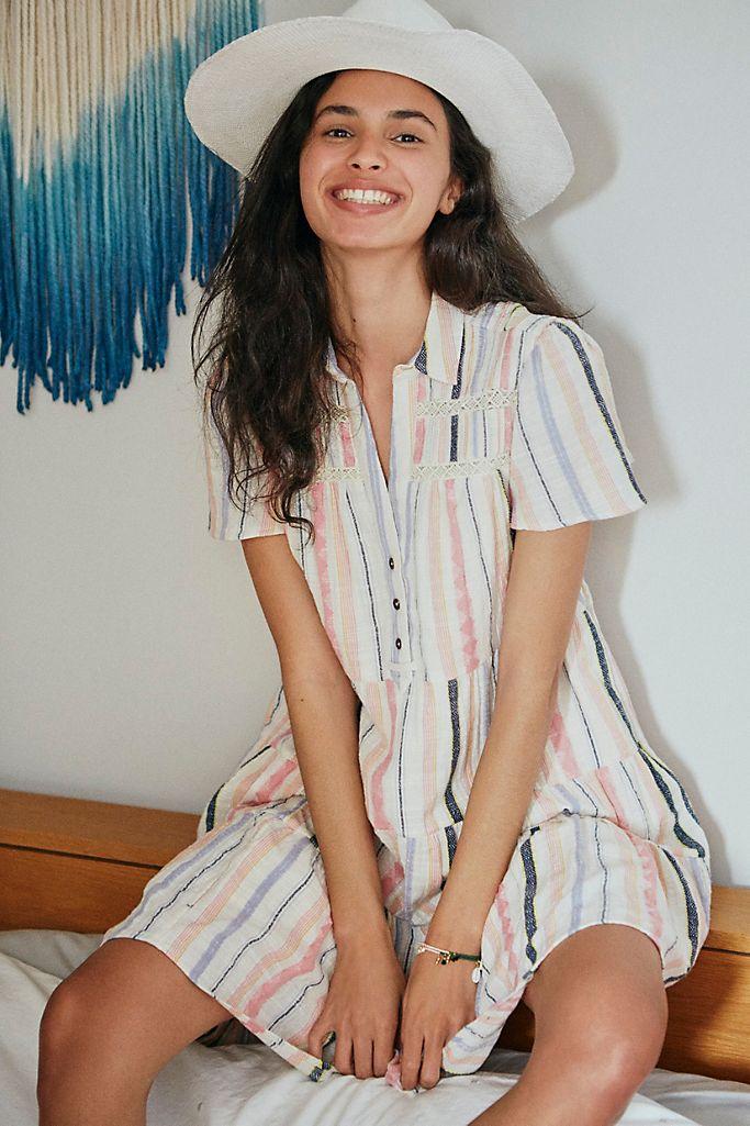 Georgina Tiered Shirtdress -