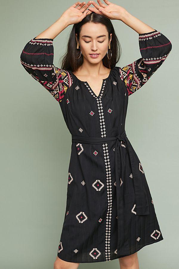 best website dc08c 0e2f2 Henrietta Besticktes Folklore-Kleid
