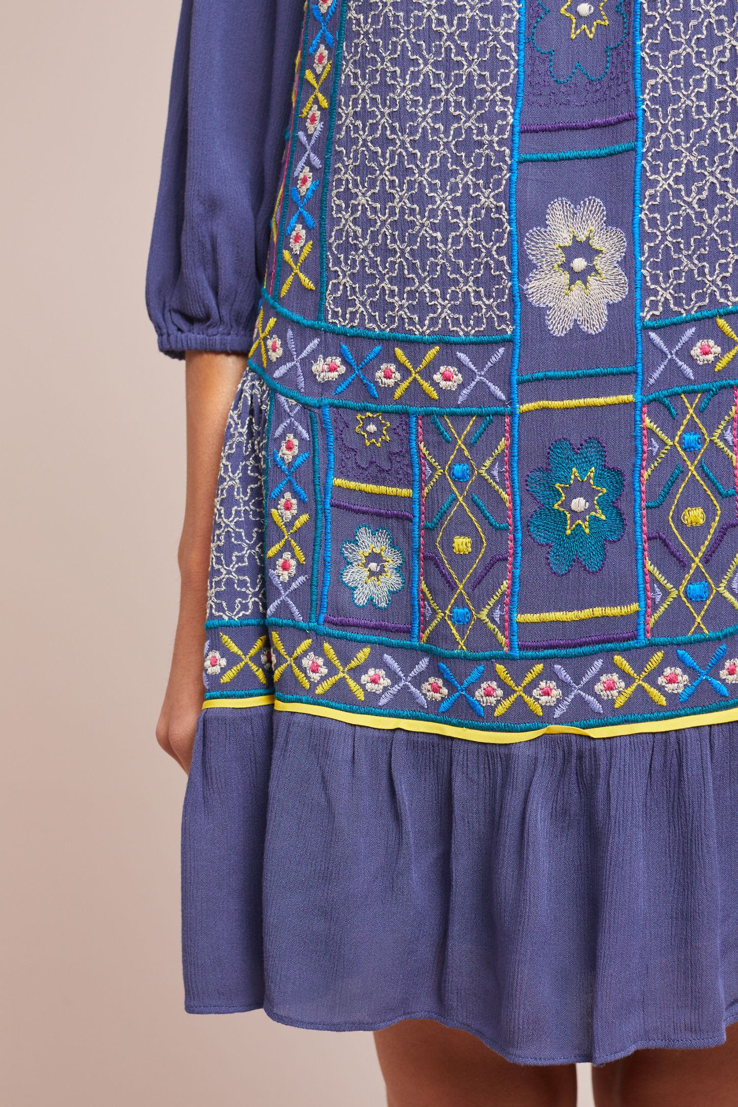 cafb9112ee Slide View  4  Patna Embroidered Tunic Dress