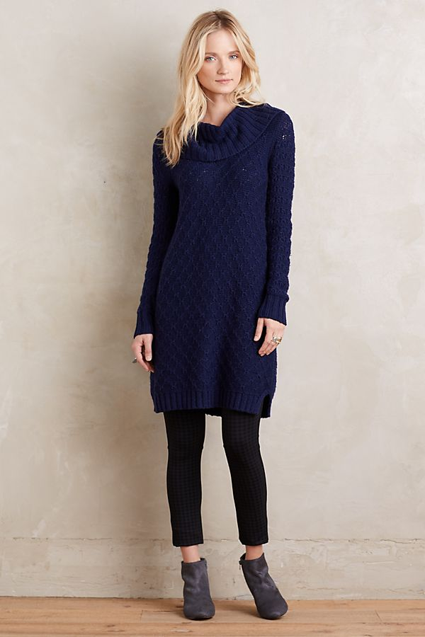 ed6c0892f8 Cowled Sweater Dress