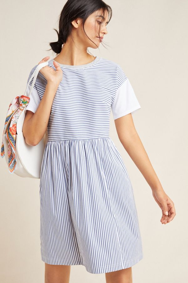 Slide View: 1: Sunday Striped Dress