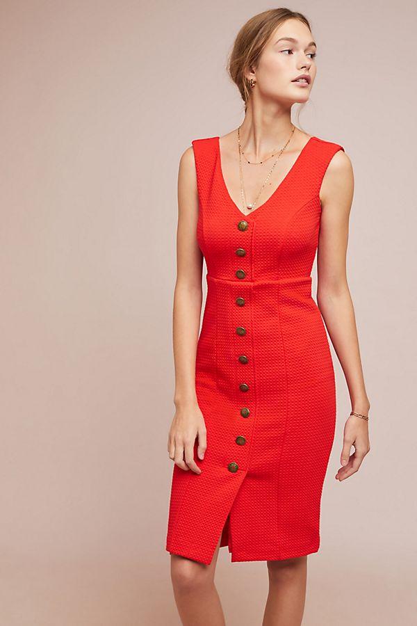 d820b5c4d0c Slide View  1  Sleeveless Buttondown Dress