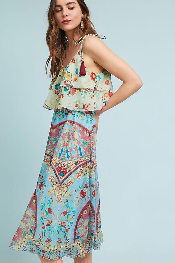 879ab7f4c0 Eros Kerchief Dress | Anthropologie