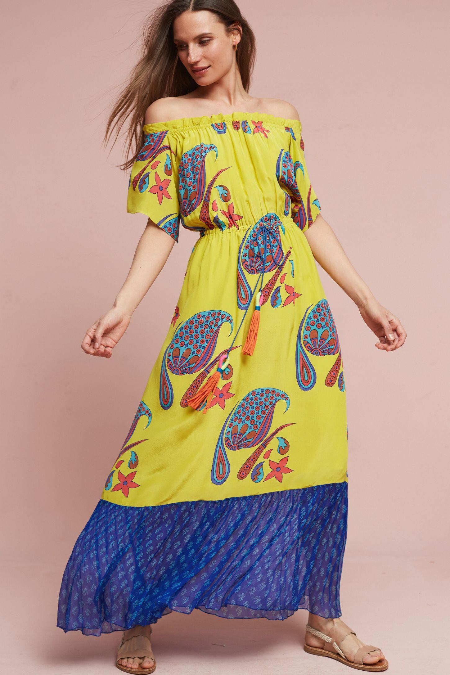 57332d51a54c Mishti Silk Maxi Dress