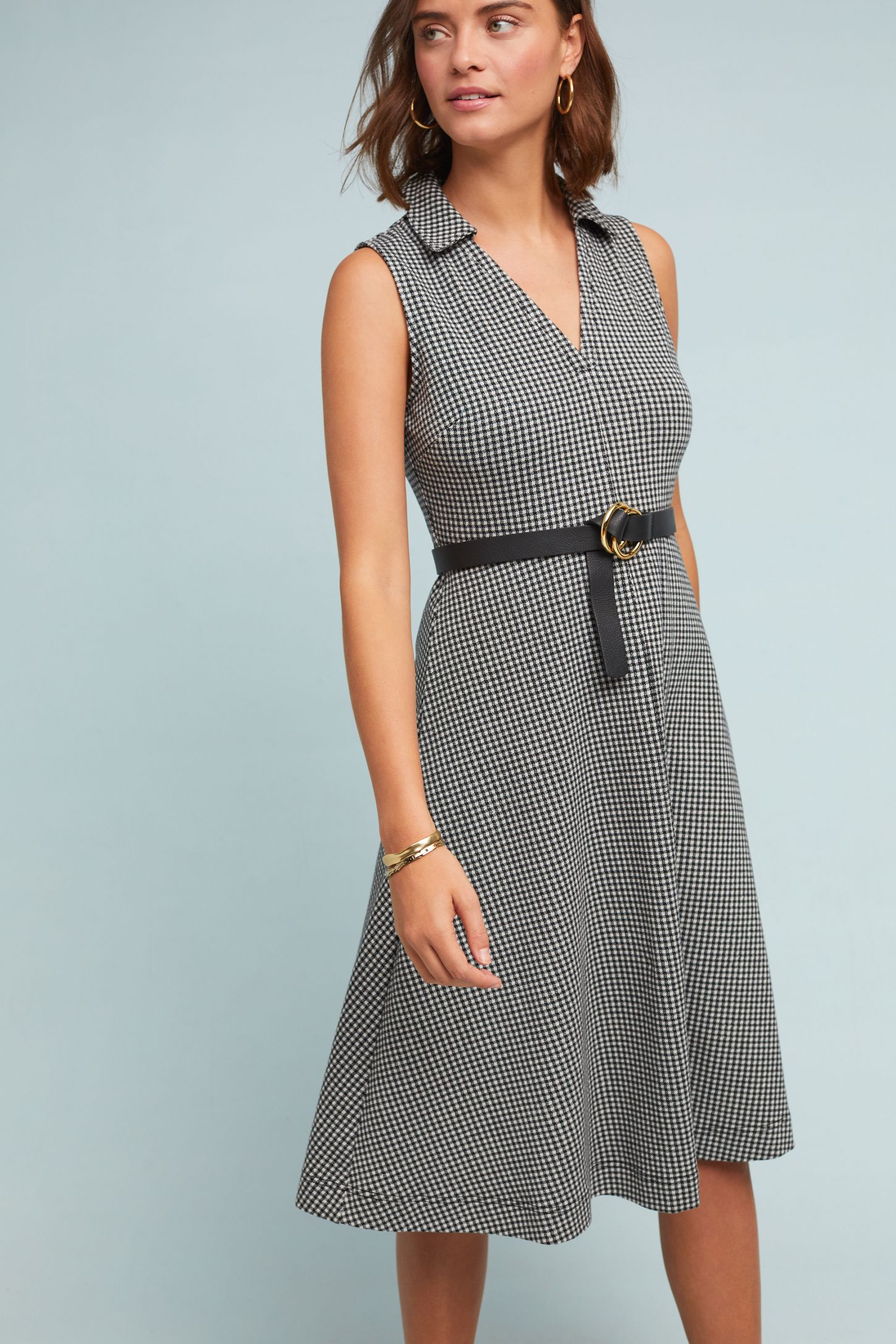 cc20cdb80d Collared Gingham Dress | Anthropologie