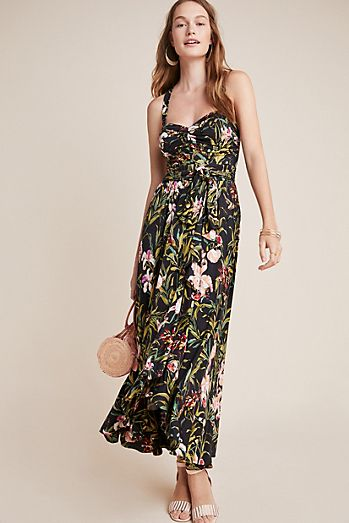 a6196cb973e Gabriela Ruffled Maxi Dress