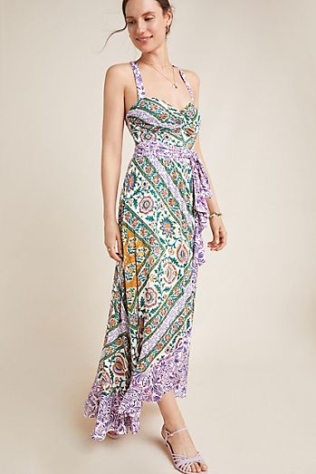 84f2699b4df Gabriela Ruffled Maxi Dress
