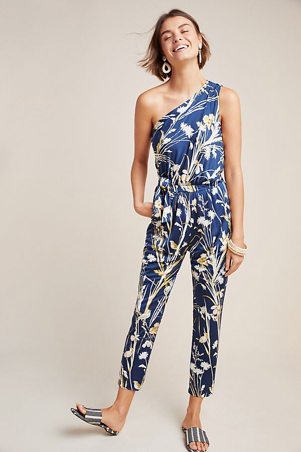 Keaton One-Shoulder Jumpsuit