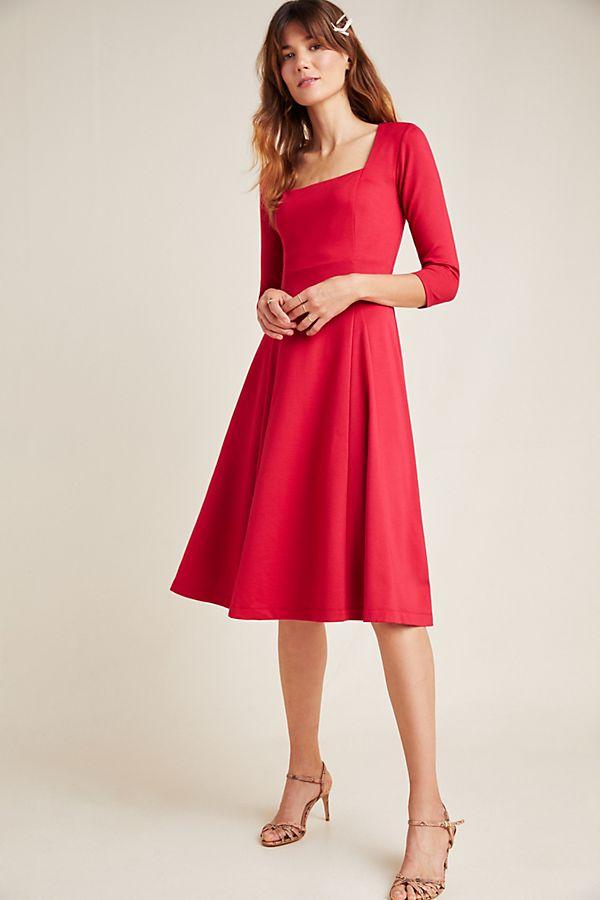 Slide View: 1: Jocelyn Midi Dress