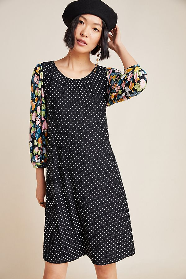 Slide View: 1: Sawyer Balloon-Sleeved Tunic