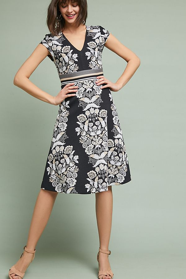 e05bf635dc86 Soiree Embroidered Dress | Anthropologie UK