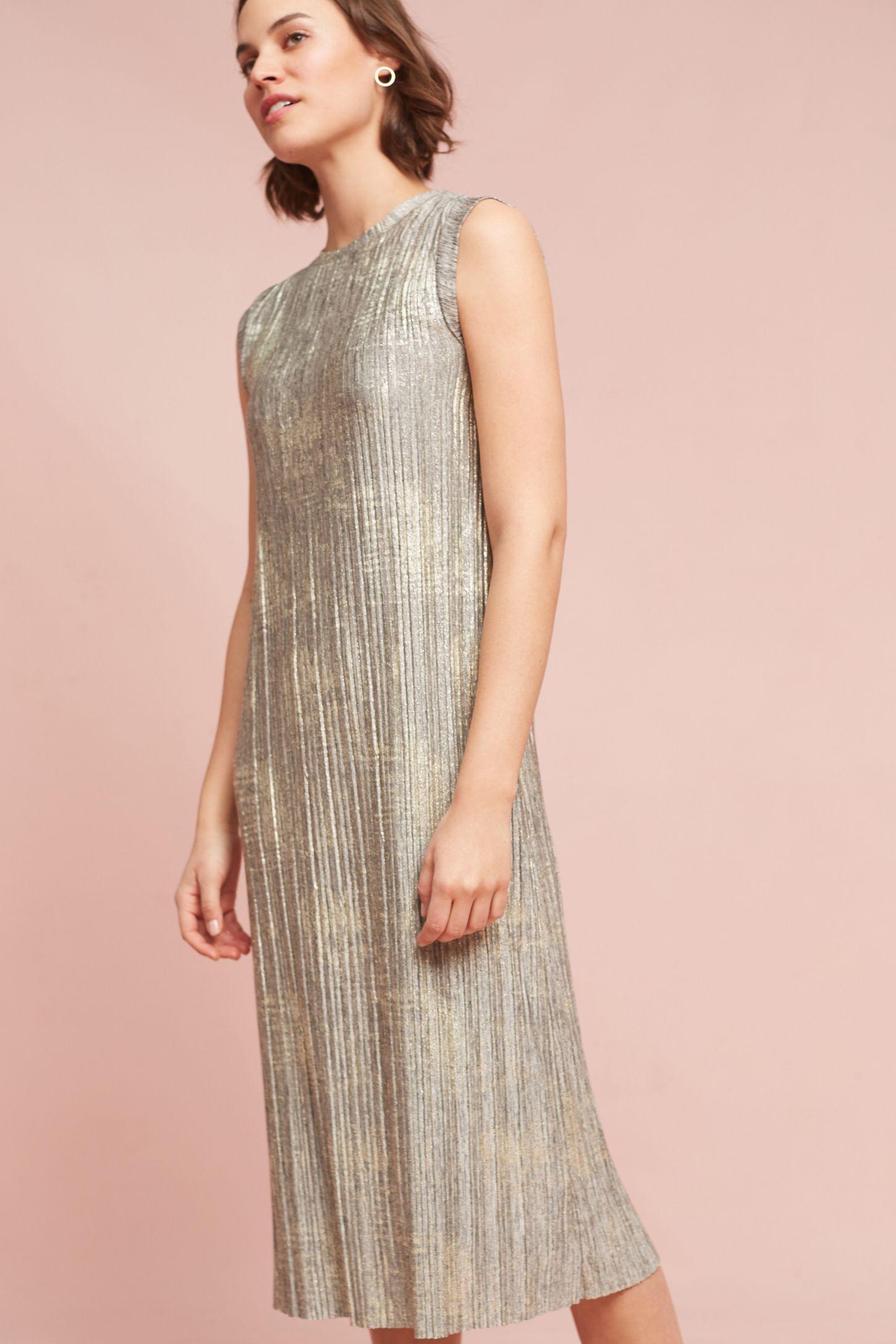 fab62d901fca Corrina Metallic Dress | Anthropologie