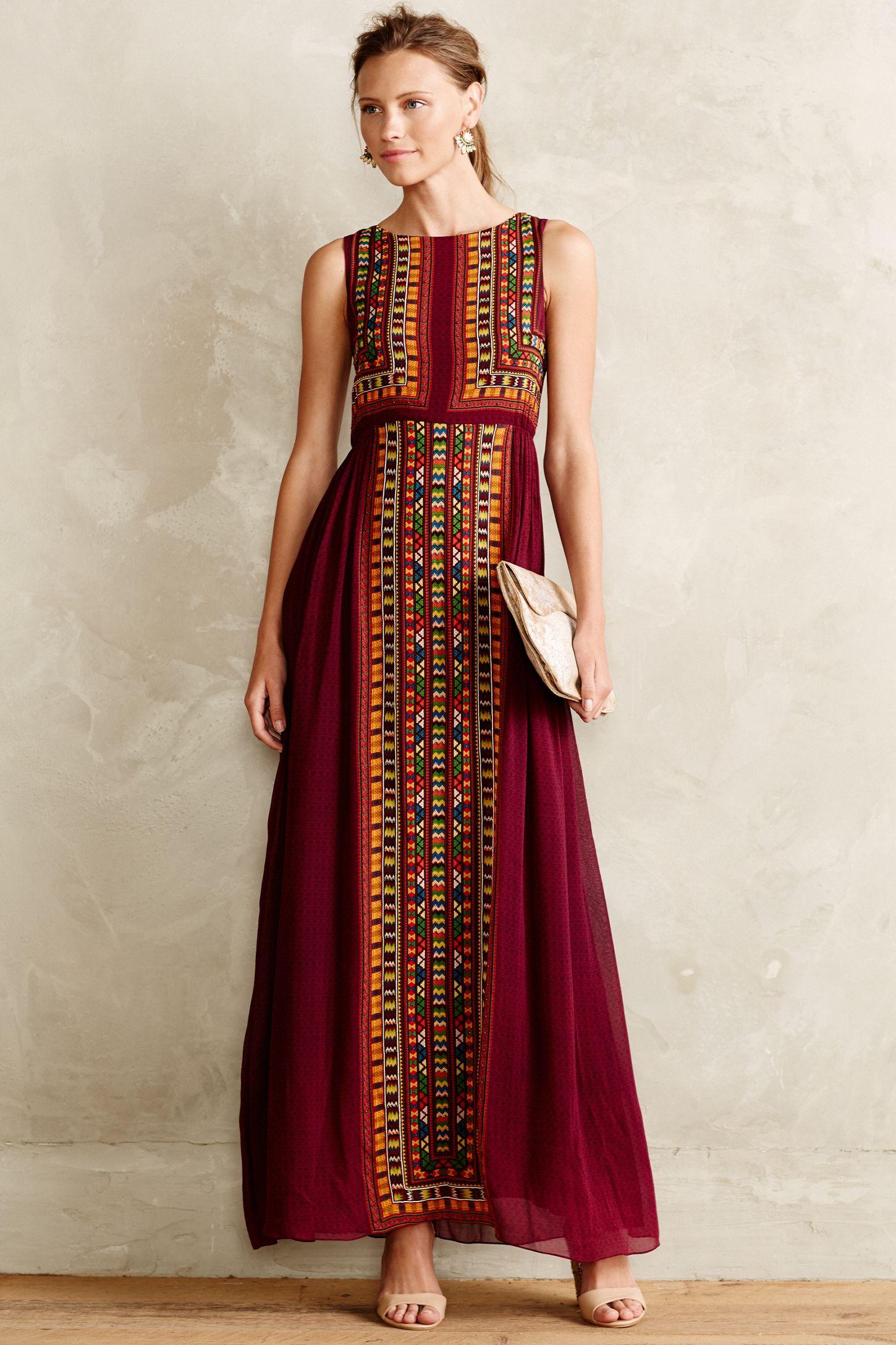 799ddda986a3 Bajwa Maxi Dress | Anthropologie