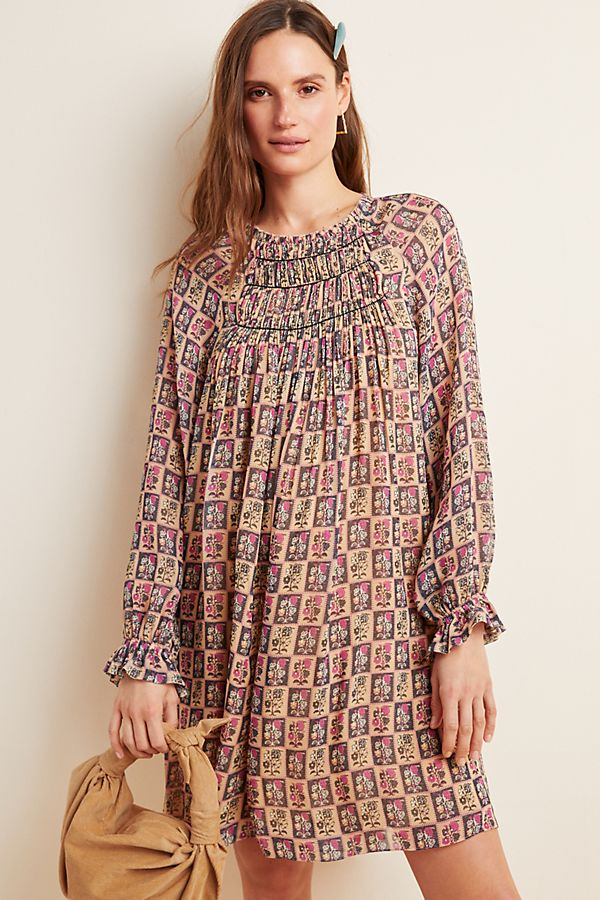 Slide View: 1: Taliyah Abstract Tunic