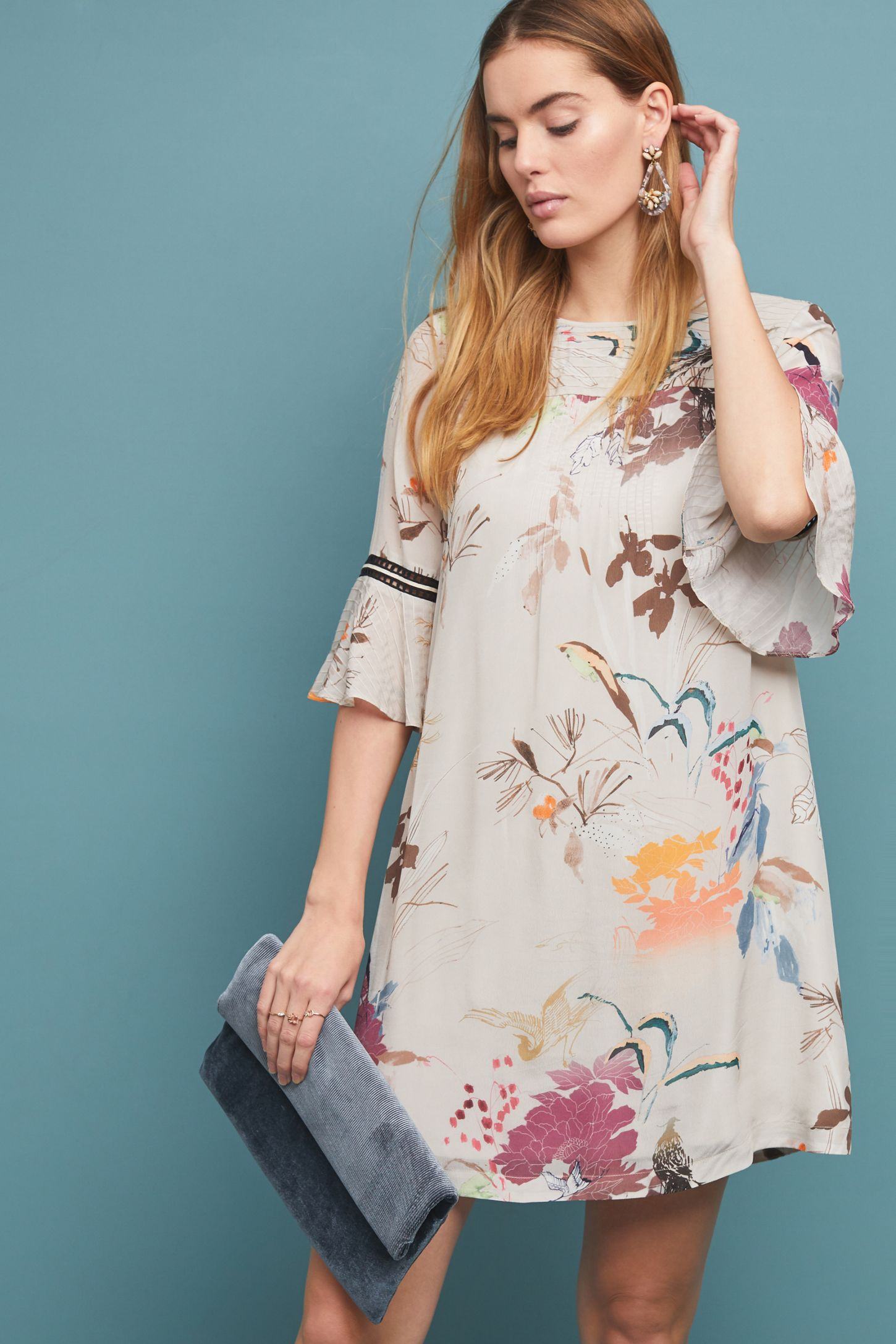 bb14b5b35aa5e Fleur Tunic Dress | Anthropologie