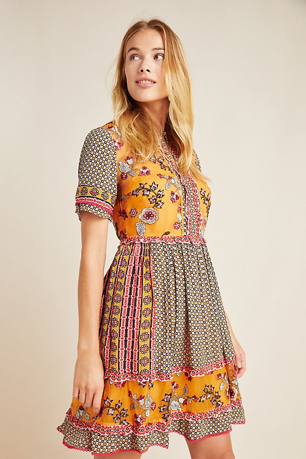 Slide View: 1: Carmel Embroidered Tunic