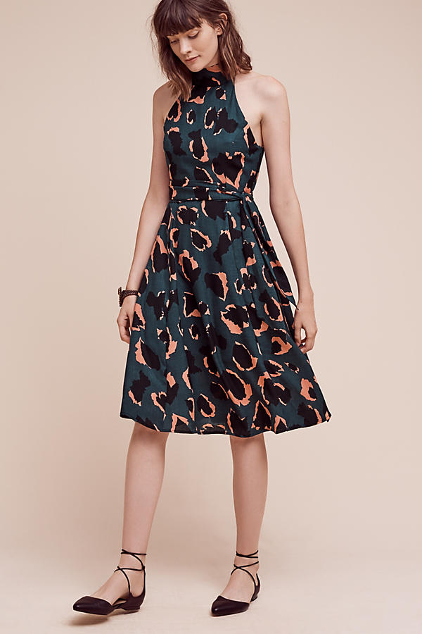 51898d2ec7193 Leopard Graphic Dress | Anthropologie