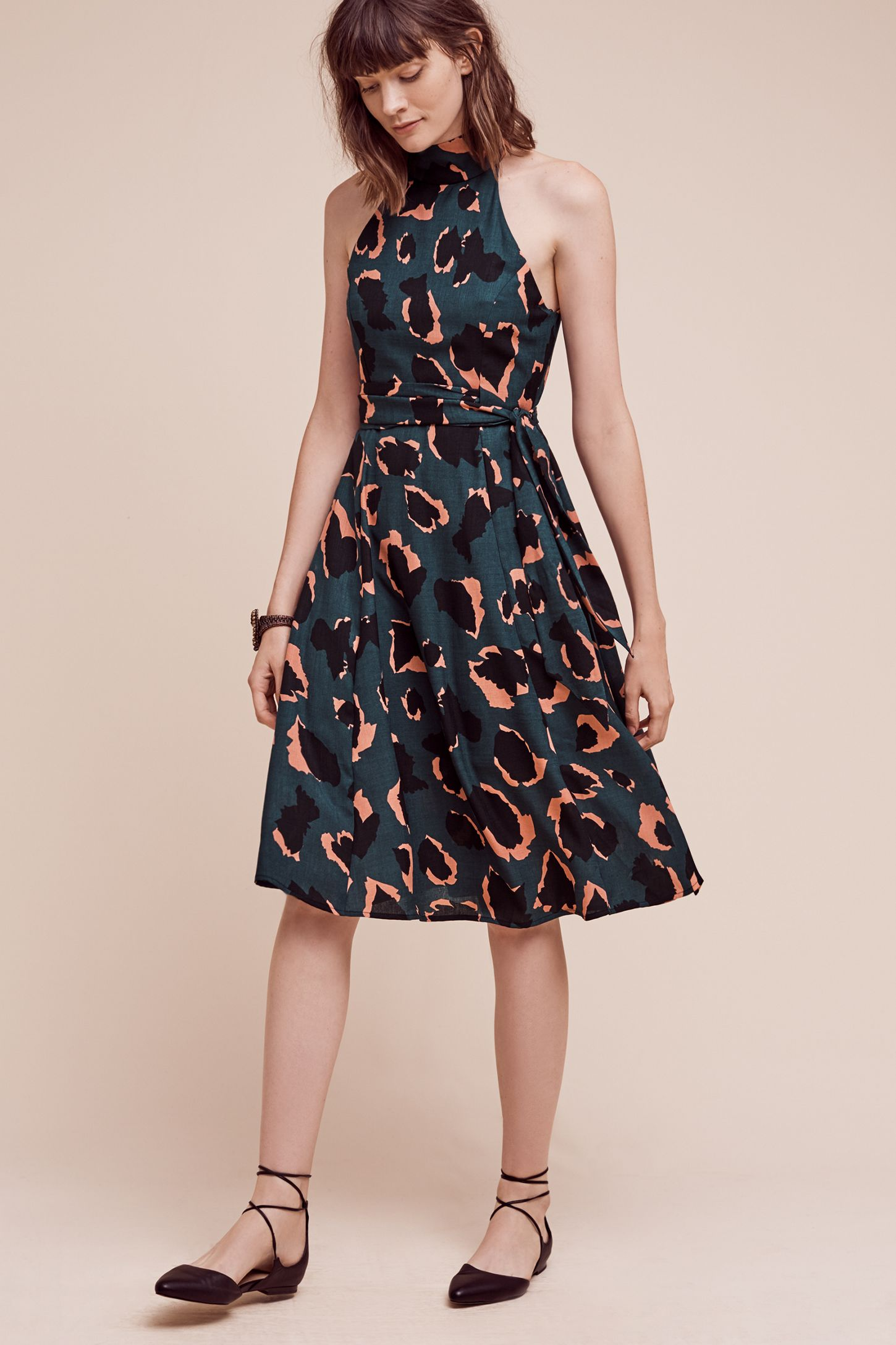 42fe6c0f8454 Leopard Graphic Dress | Anthropologie