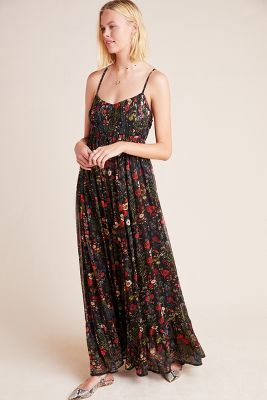 Massima Pleated Maxi Dress by Payal Jain