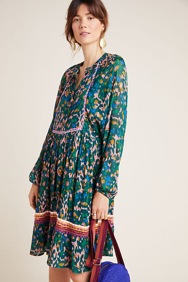 Slide View: 1: Coterie Embroidered Tunic