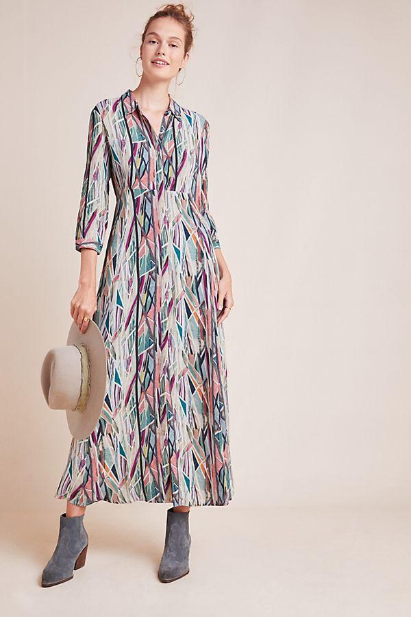 winona-watercolor-shirtdress by bl-nk