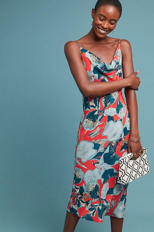 27d45807f4 Monstera Petite Slip Dress