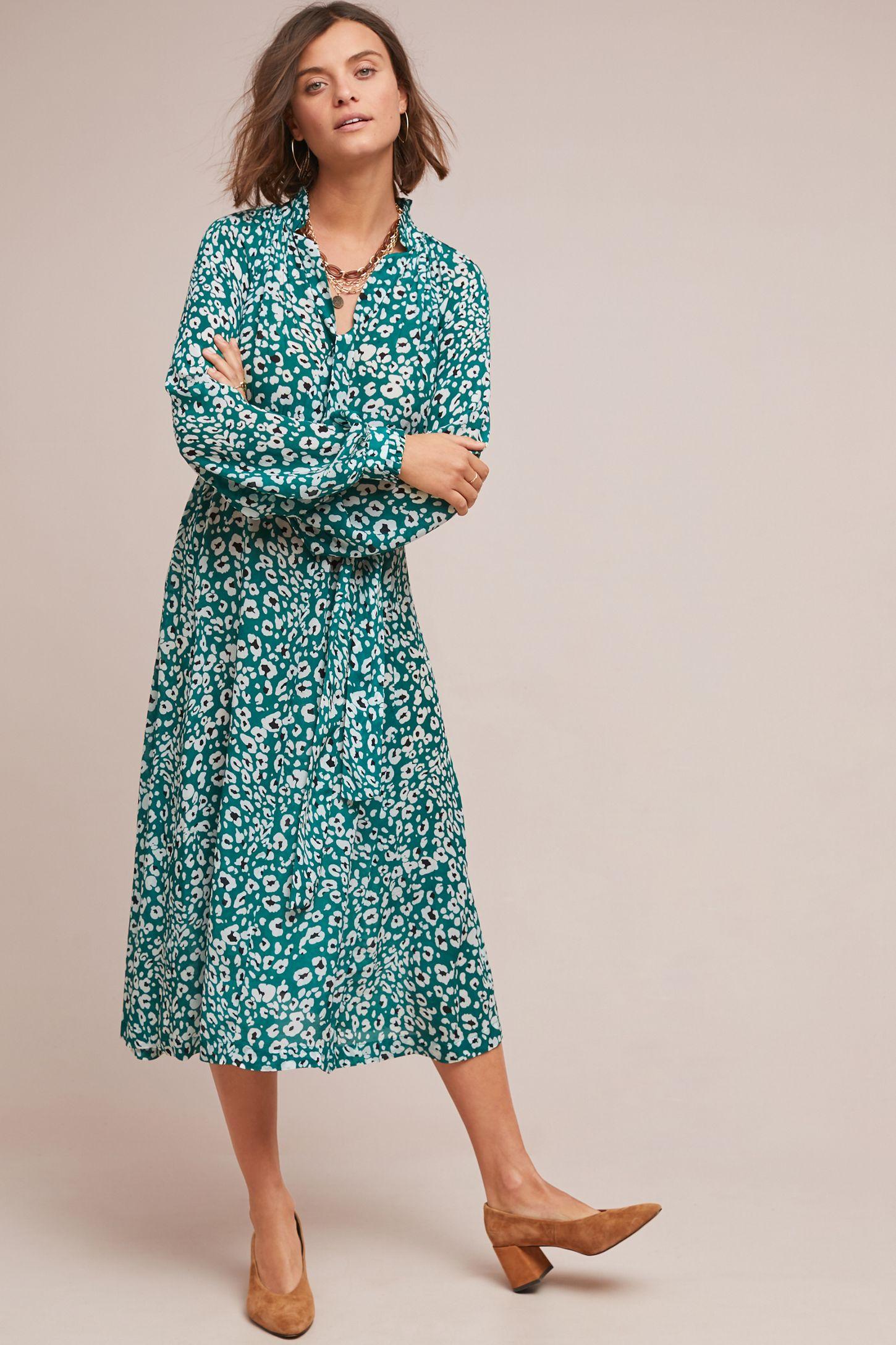837b7896748 Leopard Swing Dress | Anthropologie