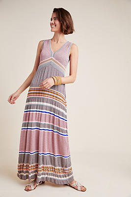 Slide View: 1: Sierra Knit Maxi Dress