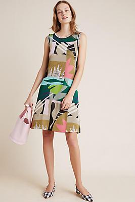 Slide View: 1: Tropical Knit Dress