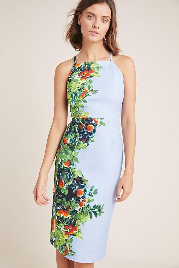 a1b097dd Orange Bough Dress | Anthropologie