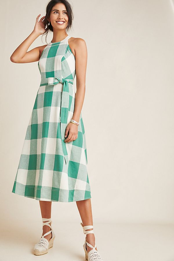 574c82502fd1 Greta Gingham Dress | Anthropologie UK