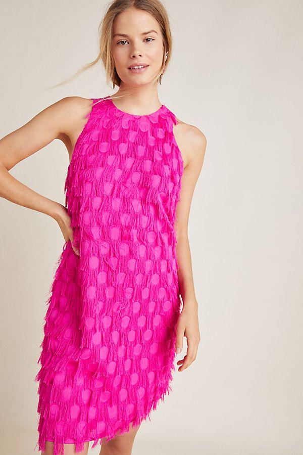 Slide View: 1: Roxie Textured Shift Dress