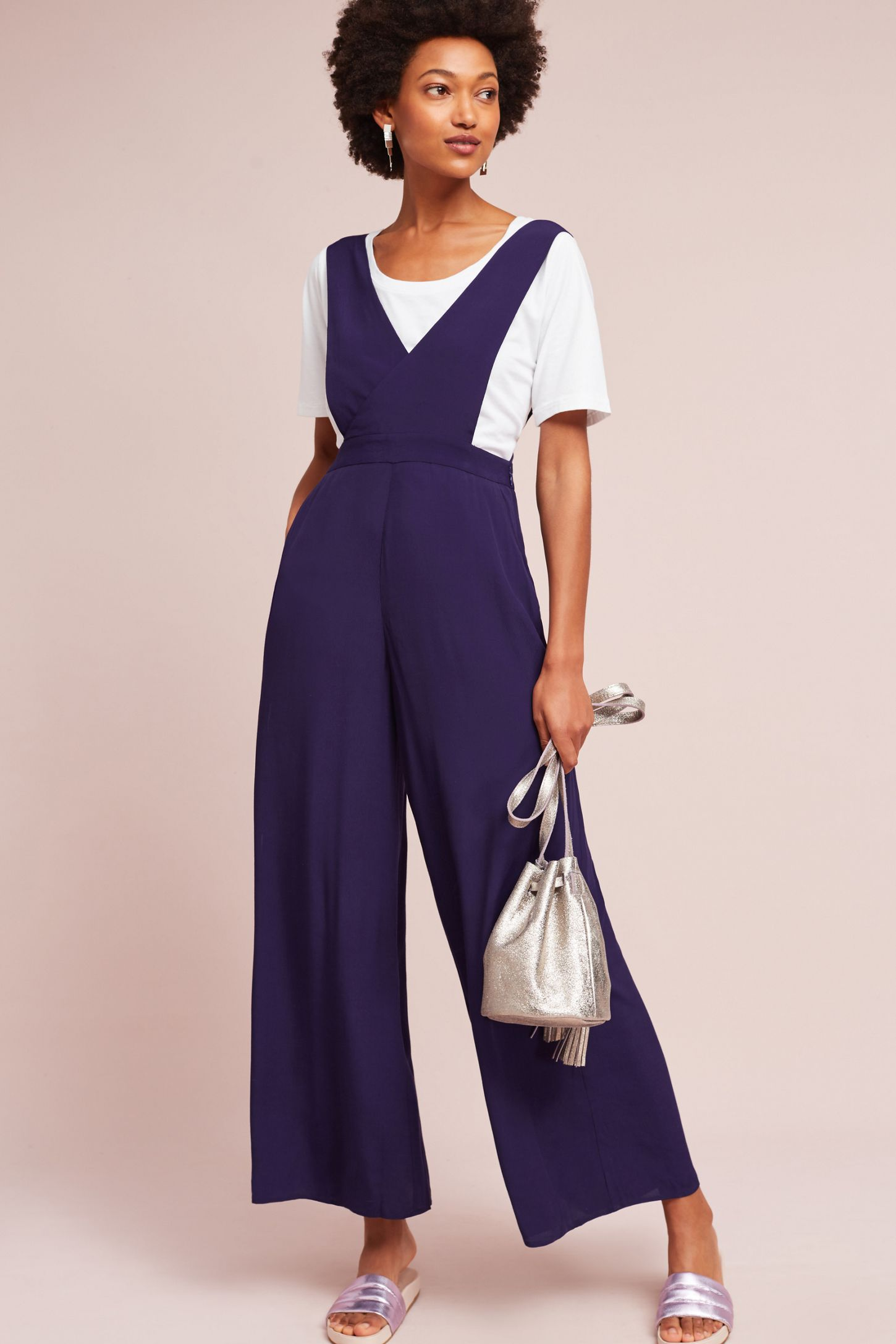 d15373fc0125 Apron Wide-Leg Jumpsuit | Anthropologie