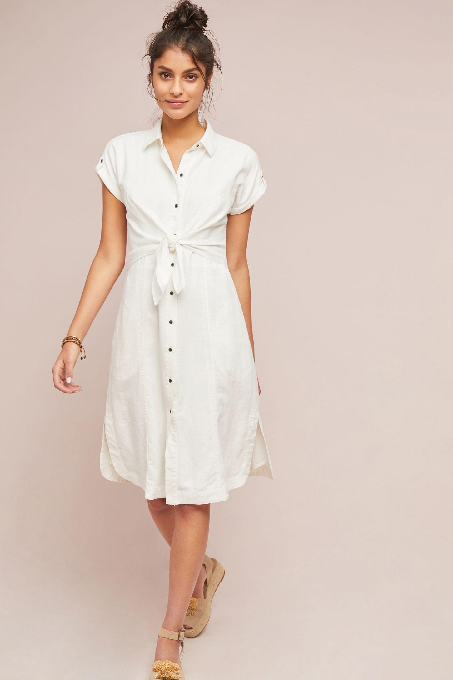 f022b4c29ce Elspeth Linen Shirtdress | Anthropologie UK