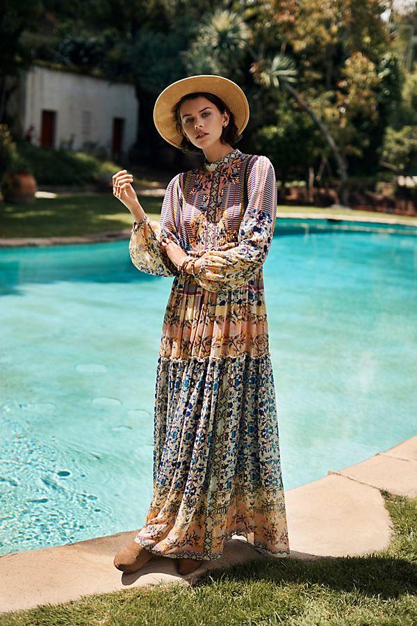 Slide View: 1: Anastasia Maxi Dress