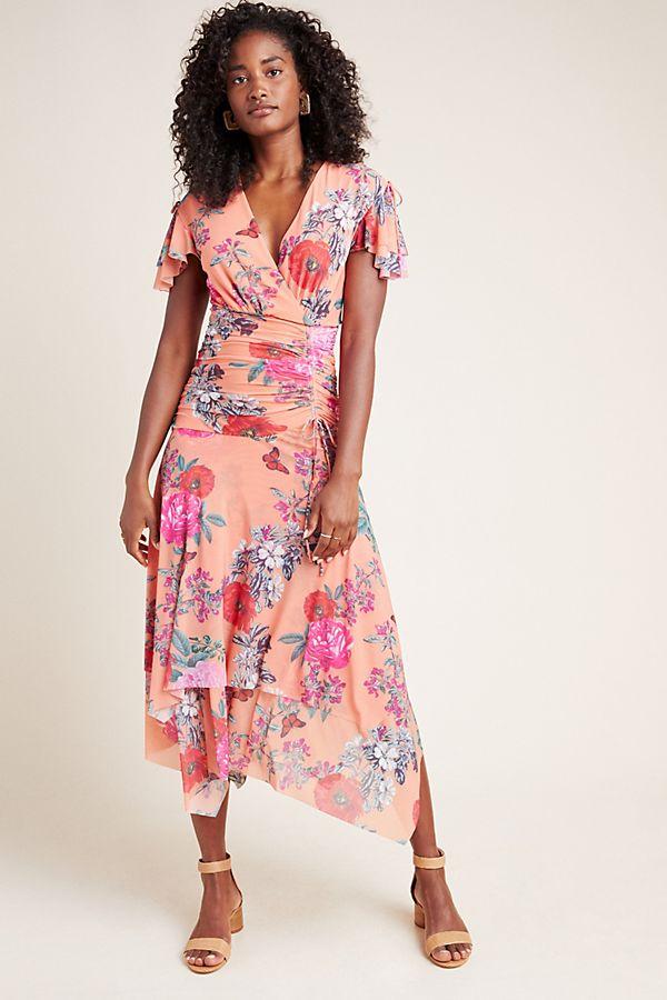 Slide View: 1: Simone Floral Midi Dress