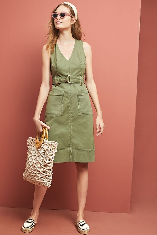 Slide View: 1: Oona Utility Dress