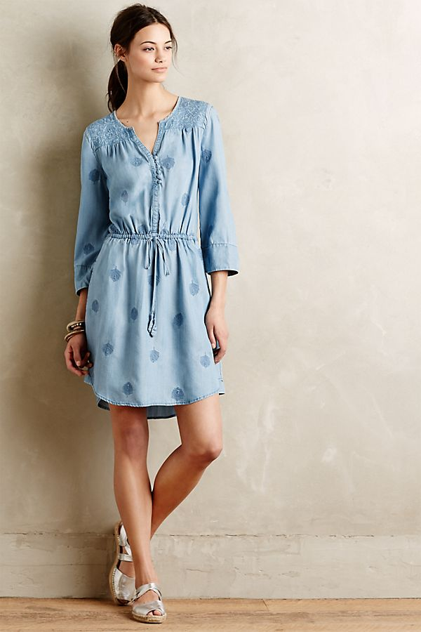 78f243f0c11f Plumage Chambray Dress | Anthropologie