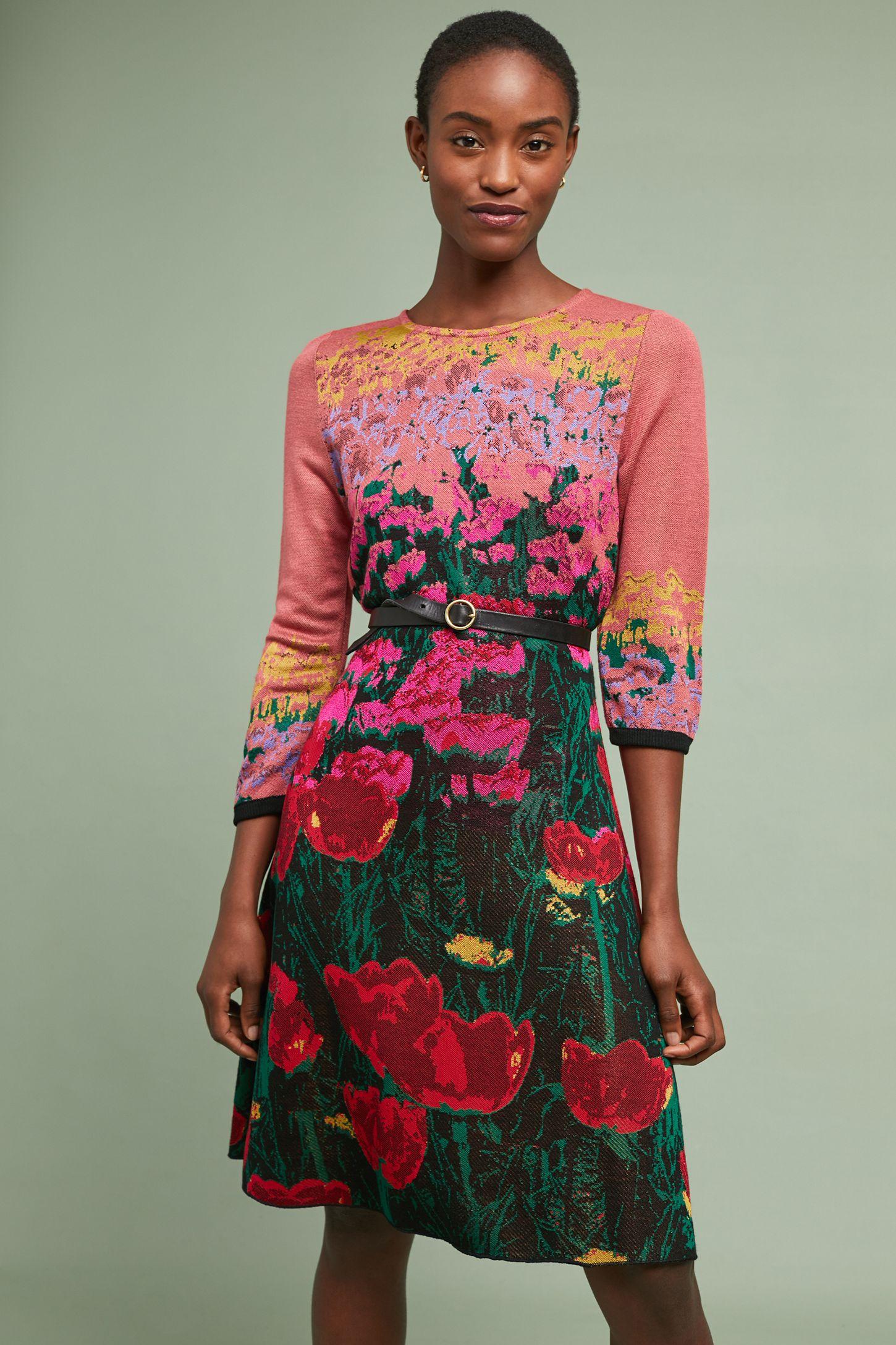 9b556fa0c0aa34 Lisse Sweater Dress