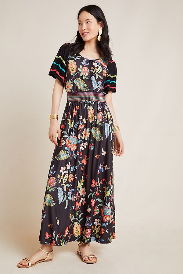 Slide View: 1: Catalonia Maxi Dress