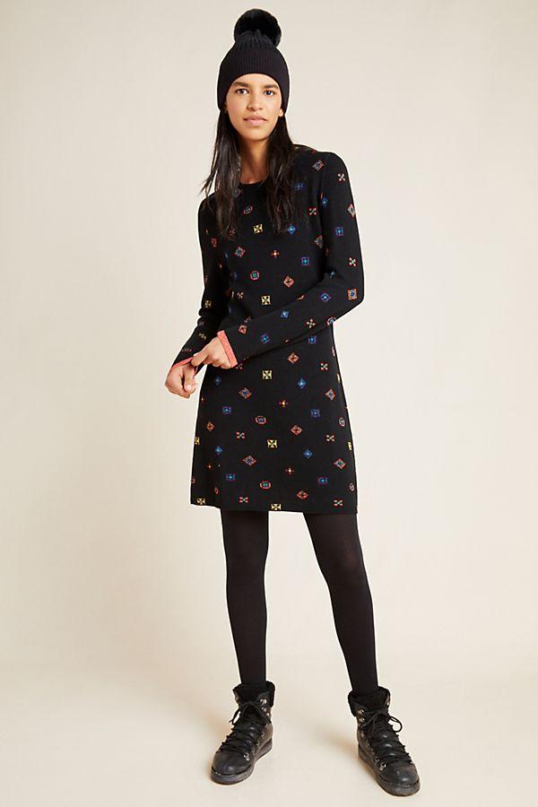 Slide View: 1: Toni Sweater Mini Dress